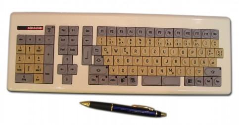 Gorlo & Todt Einhandtastatur Hera mit Nummernblock für Linkshänder