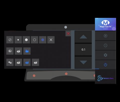 Magic Eye-FX Software Access Menu
