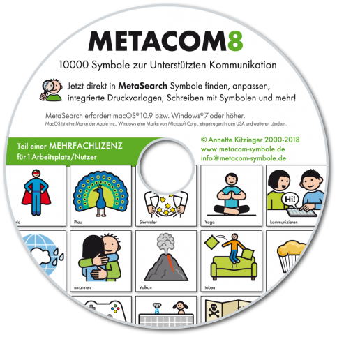 Metacom 8 Mehrfachlizenz