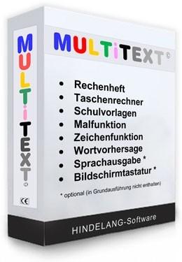 Multitext ohne Sprachausgabe | Einzelplatz-Lizenz