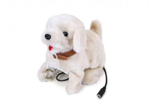Adaptiertes Spielzeug Hund Lucy