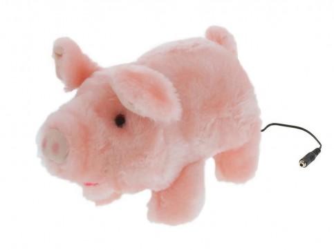 Adaptiertes Spielzeug Schwein Percy