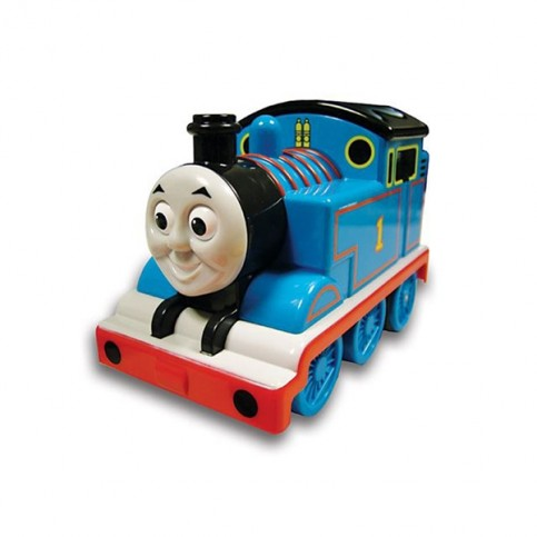 Adaptiertes Spielzeug Lokomotive Thomas