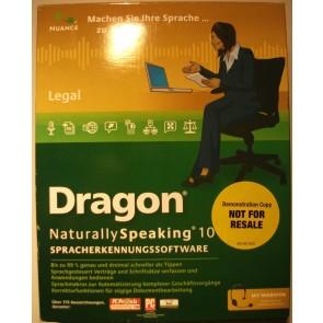 Dragon Naturally Speaking 10 - Sonderposten