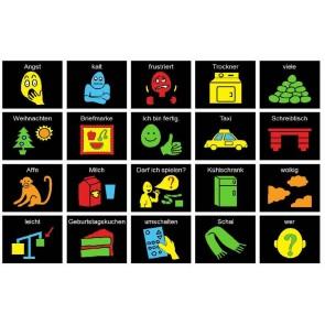 Boardmaker PCS Symbole kontrastreich
