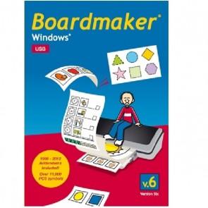 Boardmaker V6 Einzelplatz-Lizenz USB-Version