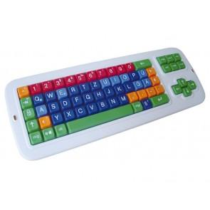 Clevy Lerntastatur mit Fingerführung