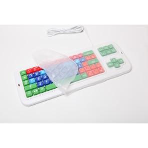 Clevy Cover auf Tastatur