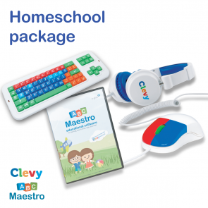 ABC Maestro mit Clevy Homeschool Set