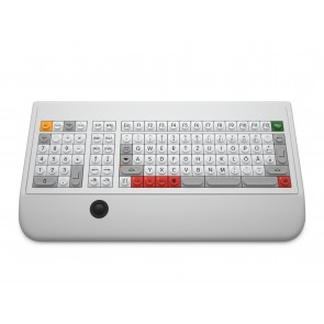 KT 10 Tastatur Nummernblock links Trackball links