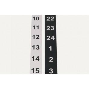 Magnetstreifen für MEMOdayplanner 3 24 Stunden