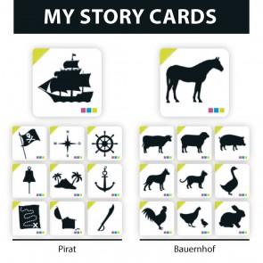 """My Story Cards  """"Pirat"""" und """"Bauernhof"""""""