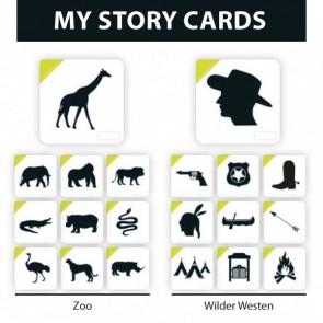 My Story Cards - Erweiterung Zoo/Wilder Westen