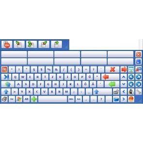 Onscreenkeys Deluxe Bildschirmtastatur mit Maus-Emulation und Sprachausgabe