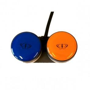 Piko 30 Zweifach blau orange