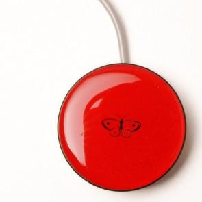 Piko Button 50 regular rot